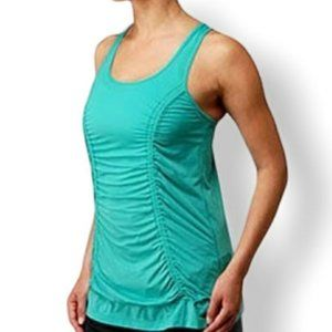 Lululemon I Just Wanna Run Tank - Blue Lagoon